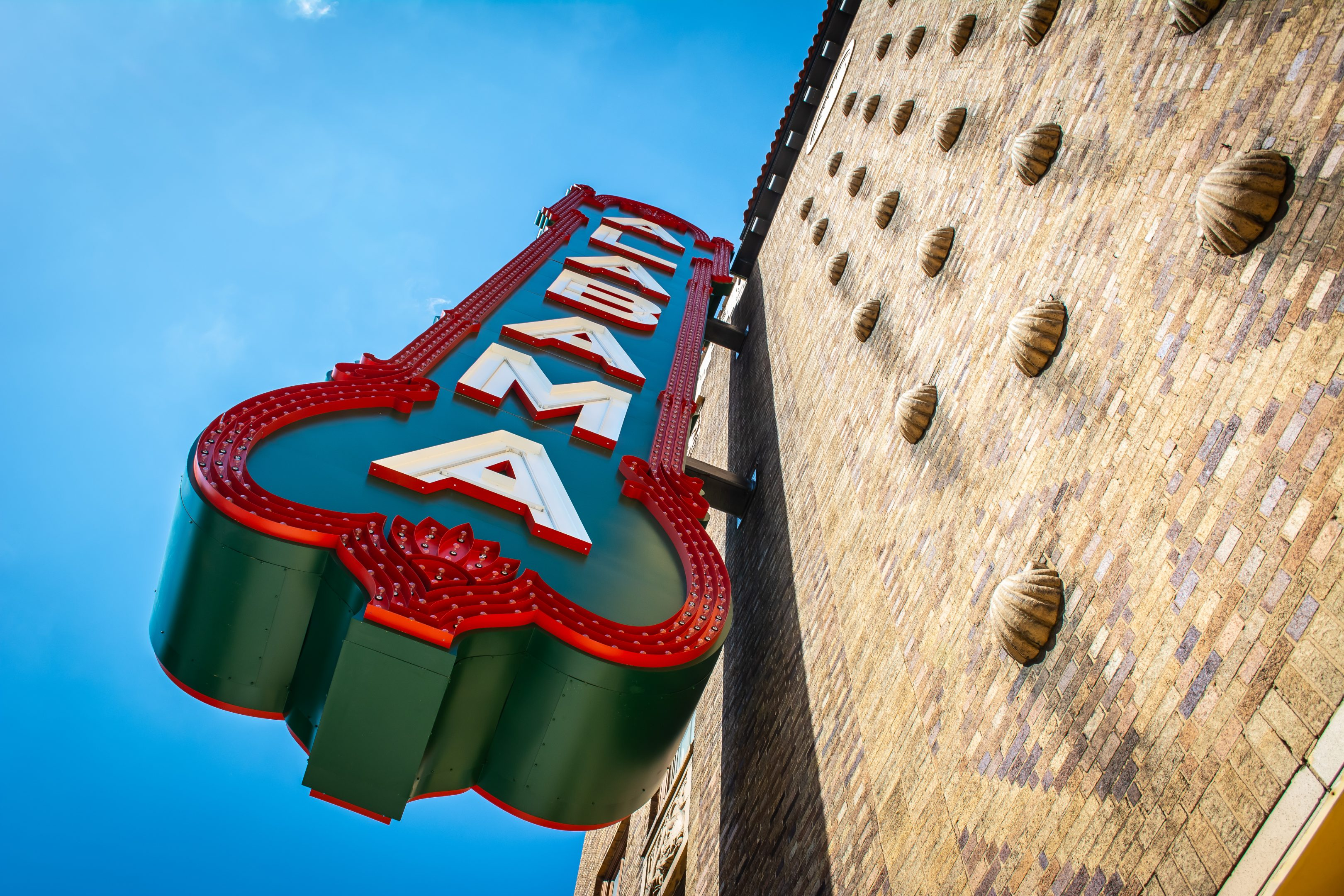 Alabama Theatre Blade Sign