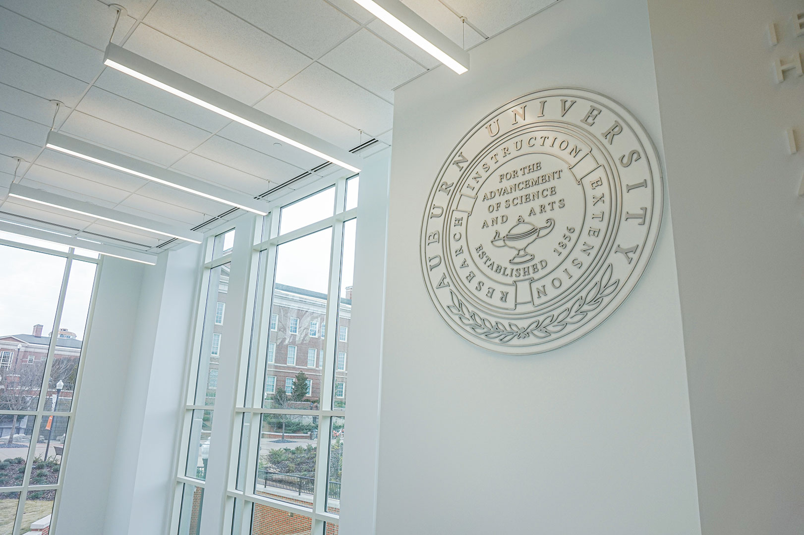 Dimensional Auburn University seal